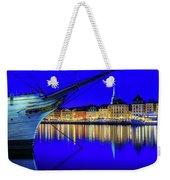 Stockholm Old City Blue Hour Serenity Weekender Tote Bag