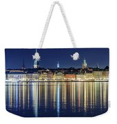Stockholm Old City Magic Quartet Reflection In The Baltic Sea Weekender Tote Bag