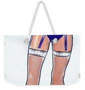 Stocking Legs Pop Art Weekender Tote Bag