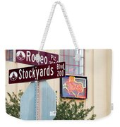 Stockyards Fort Worth 6815 Weekender Tote Bag