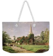 Stoke Poges Church Weekender Tote Bag