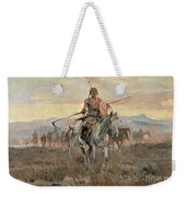 Stolen Horses Weekender Tote Bag by Charles Marion Russell
