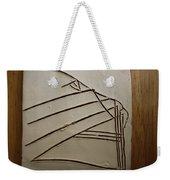 Stone - Tile Weekender Tote Bag