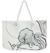 Stone Angel Weekender Tote Bag by Loretta Nash