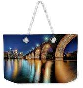 Stone Arch Bridge Weekender Tote Bag
