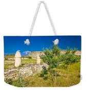 Stone Artefacts Of Asseria Ancient Town Weekender Tote Bag