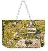 Stone Artifacts Of Ancient Town Of Asseria  Weekender Tote Bag
