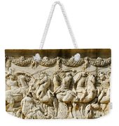 Stone Carving On Mausoleum Of The Julii Weekender Tote Bag