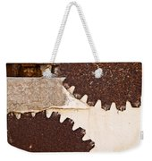 Stone Eater In Lime Stone Quarry - Lithica Weekender Tote Bag