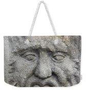 Stone Face Weekender Tote Bag