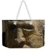 Stone Head Weekender Tote Bag