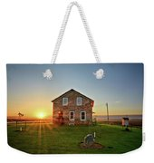 Stone House Sunrise Weekender Tote Bag