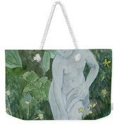 Stone Lady In The Butercups Weekender Tote Bag