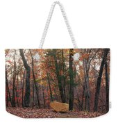 Stone Leaves And Trees Weekender Tote Bag