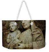 Stone Madonna And Child Weekender Tote Bag