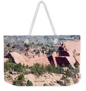 Stone Quarry In Red Rock Canyon Open Space Park Weekender Tote Bag