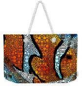 Stone Rock'd Clown Fish 2 - Sharon Cummings Weekender Tote Bag
