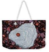 Stone Simplicity Weekender Tote Bag