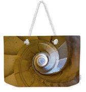 Stone Spiral Weekender Tote Bag