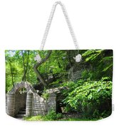 Stone Stairway Along The Wissahickon Creek Weekender Tote Bag