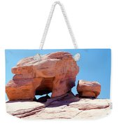 Stone Temple Valley Of Fire Weekender Tote Bag