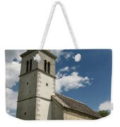 Stone Tile Roof Of The Church Of The Holy Cross In Tomaj Parish  Weekender Tote Bag