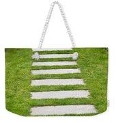 Stone Walkway Weekender Tote Bag