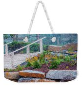 Stone Wall And Stairs Weekender Tote Bag