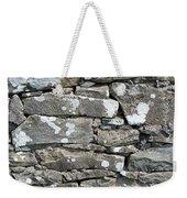 Stone Wall Detail Doolin Ireland Weekender Tote Bag