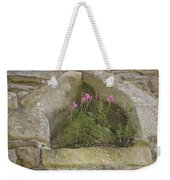 Stone Wall Determination Weekender Tote Bag