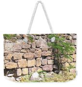 Stone Wall Weekender Tote Bag