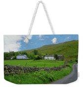 Stone Wall Lake District - P4a16012 Weekender Tote Bag