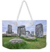 Stonehenge In England Weekender Tote Bag