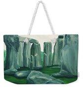 Stonehenge In Spring Weekender Tote Bag