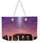 Stonehenge Ufo Weekender Tote Bag