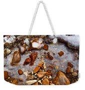 Stones And Ice Weekender Tote Bag
