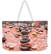 Stones In Balance Weekender Tote Bag