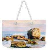 Stones In The Sea Weekender Tote Bag