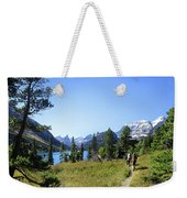 Stoney Indian Pass Trail Around Cosley Lake - Glacier National Park Weekender Tote Bag