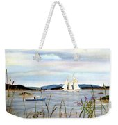 Stonington Harbor, Maine Weekender Tote Bag