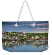 Stonington Harbor Weekender Tote Bag