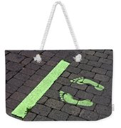 Stop Line Weekender Tote Bag