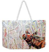 Stop To Smell The Weeds Weekender Tote Bag