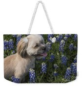 Stopped To Smell The Bonnets Weekender Tote Bag
