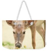 Stopping To Smell The Flowers Weekender Tote Bag
