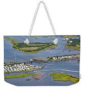 Stopping Traffic Topsail Island Weekender Tote Bag