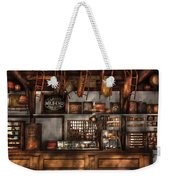 Store - Old Fashioned Super Store Weekender Tote Bag