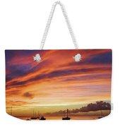 Store Bay, Tobago At Sunset #view Weekender Tote Bag