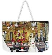Store Front Wedding Weekender Tote Bag