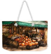 Store - Hoboken Nj - The Fruit Market Weekender Tote Bag